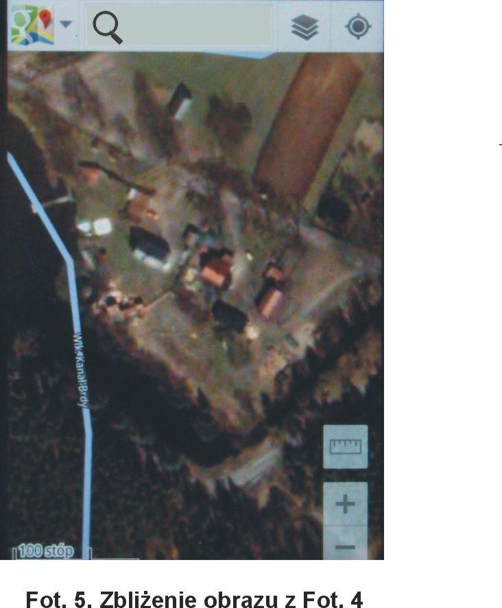 Zbliżenie obrazu z Fot.4